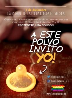 Kondom, Gelb und Hände. Beleuchtung: Schreibtisch- und Taschenlampe.